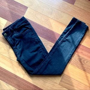 Black American Eagle Jeggings, size 8